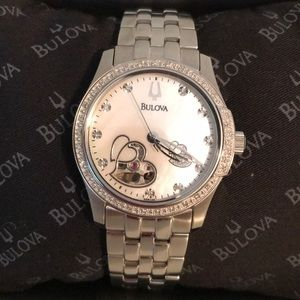 Rare Bulova Mother Of Pearl Watch ❣️